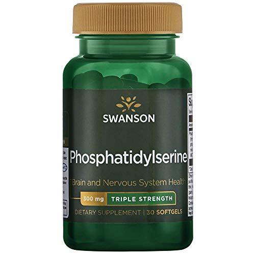 Fosfatidilserina Fosfatidilserina de triple potencia 300 mg 30 cápsulas Swanson