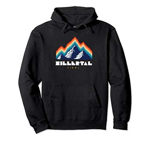 Zillertal Tirol - Österreich Retro 80s Skiferien Geschenk Pullover Hoodie