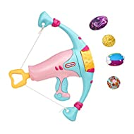 Little Tikes My First Mighty Blasters, Pink Power Bow, Safe Hand Launcher With 4 Soft Power Pods, Fo...