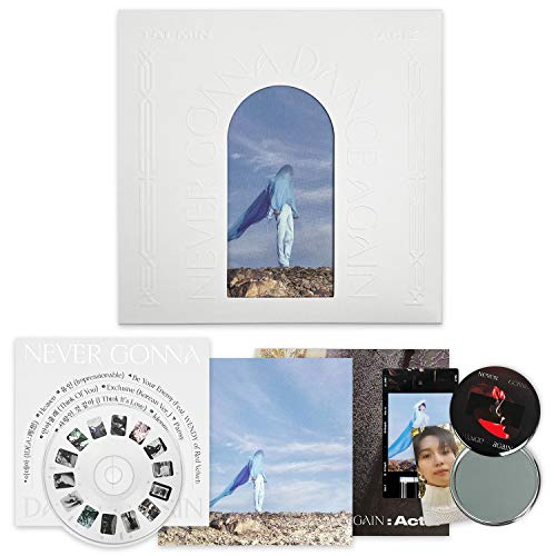 SHINEE TAEMIN 3rd Album - Never Gonna Dance Again : Act 2 [ IDEA Cover. ] CD + Booklet + Eidos + Folded Poster(On Pack) + Photocard + F.G