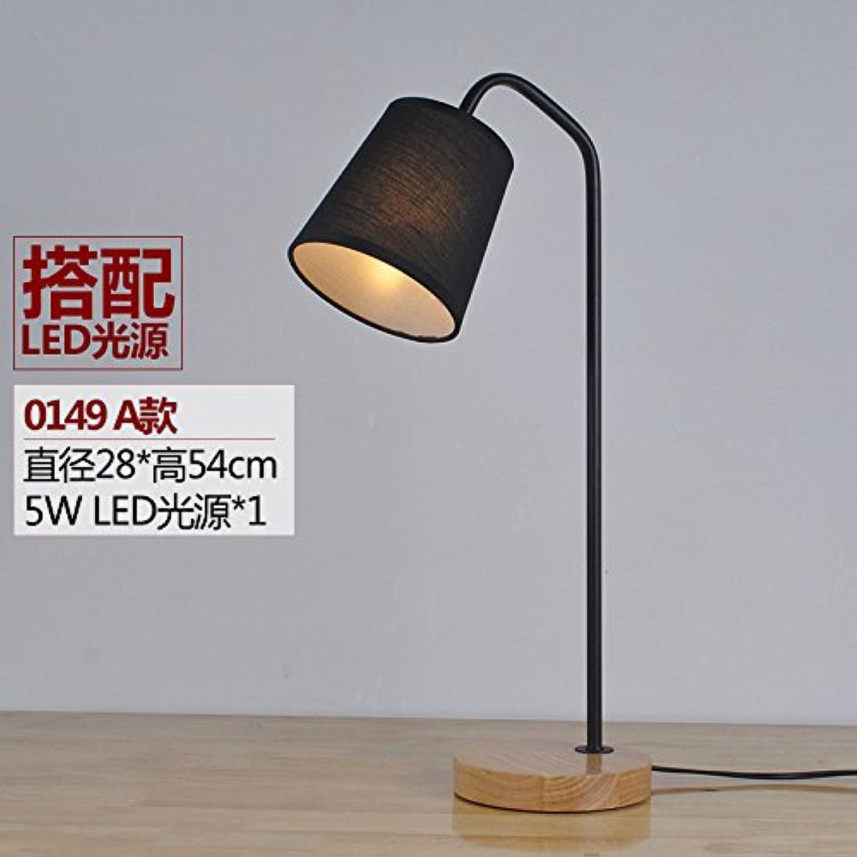 Die Schlafzimmer der Bett-LED Lampen Lampen Lampen aus echtem Holz Bügeleisen leuchten,01 LED B0718ZPJT1 | Spielzeugwelt, glücklich und grenzenlos  26cc89