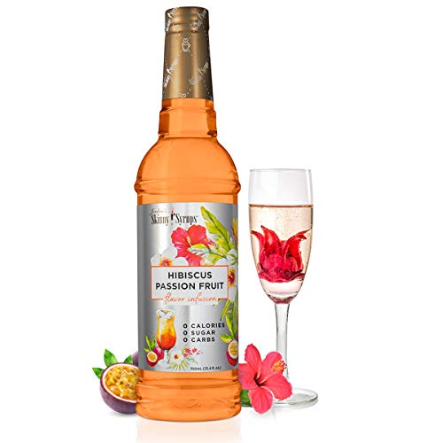 Skinny Syrup Flavor Infusions Hibiscus Passion Fruit 750ml