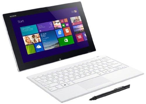 Sony VAIO Tap SVT1121B2EW 29,5 cm (11,6 Zoll Touch) ConvertibleTablet-PC (Intel Pentium 3560Y, 1,2Mhz, 4GB RAM, 128GB SSD, Intel HD, Win 8) weiß