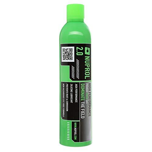 Gasflasche premuim 2.0 green Gas