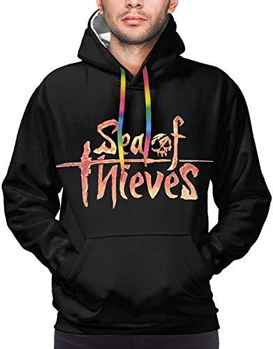 Sea of Thieves Sunset Hoodie Male Sweater Hoody Pullover Printed Hoodies Funny Hooded