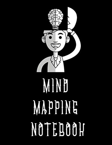 Mind Mapping Notebook: Notebook for Mind Mapping: Empty Mind maps templates to make you unleash your creativity and enhance your Note taking skills ! (brainstorming and mindmapping journal)