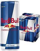 Red Bull Enerji İçeceği, 250 ml (4'lü Paket, 4x250 ml)