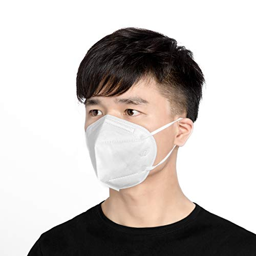 20pc Anti-pollution Mask N95 Maschera, 98% Batteri Anti-pm2.5 Protezione Anti-inquinamento antipolvere maschera, Unisex Outdoor