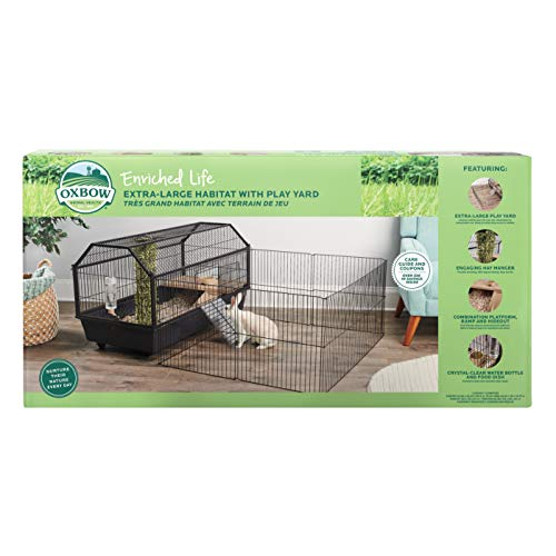 Oxbow Enriched Life Extra Large Habitat with Play Yard