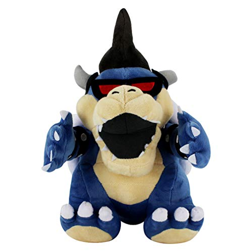 29cm Super Mario Bros Blue Koopa Soft Plush Doll 3D Knuffel