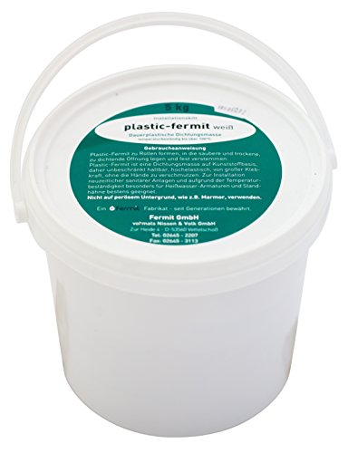 Plastik Fermit weiss (Eimer 5 kg)