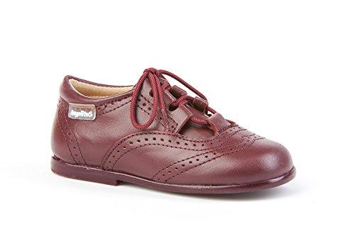 Zapatos Inglesitos para Niños Todo Piel mod.505. Calzado Infantil Made in Spain, Garantia de Calidad.