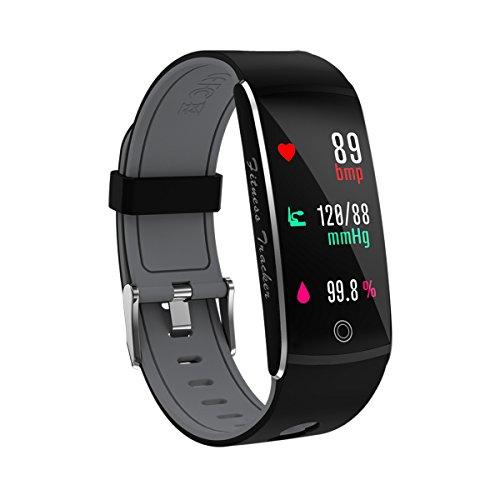 YANGPANGZI El Nuevo Brazalete Inteligente Tiene un Brazalete Bluetooth para Recordar el monitoreo de la frecuencia cardíaca a Prueba de Agua