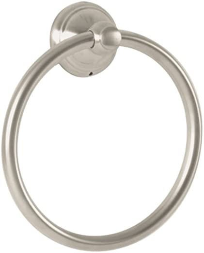 ✅Hansgrohe 06095820 C Towel Ring, Brushed Nickel #Tools & Home Improvement Hardware