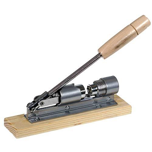 SIDCO Nussknacker Maschine Retro Nussbrecher Metall Walnuss Nussöffner Holz