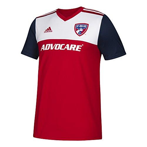 adidas MLS Fc Dallas 7416BSDPAZMFCD Youth Replica Jersey, X-Large, Power Red