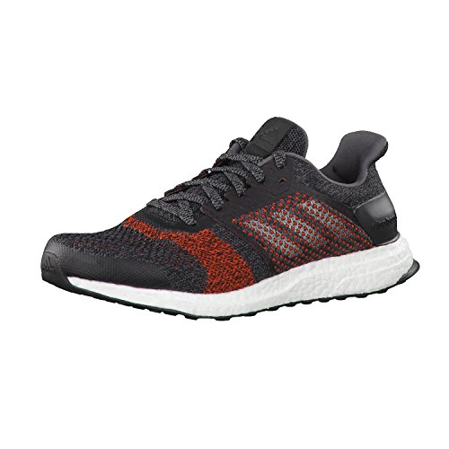 adidas Ultraboost St M, Zapatillas de Running Hombre, Negro (Negbas/Nocmét/Energi), 40 2/3 EU