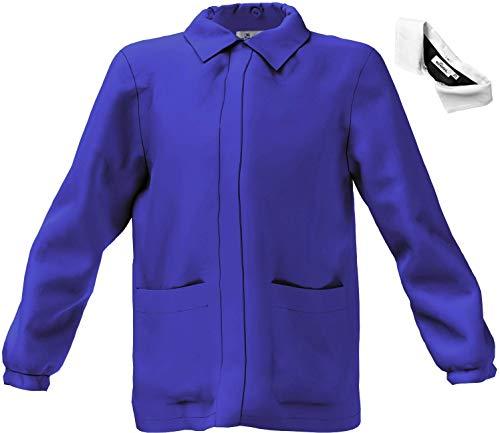 Siggi - blouse voor basisschool jongens blauw 6 ANNI-116 CM Blauw.