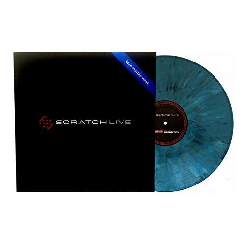 Serato Rane Scratch Live Timecode Vinyl marble-blue (Stück)