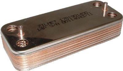 Scambiatore secondario di calore Biasi Basica - Savio - Baxi (Compatibile come originale)