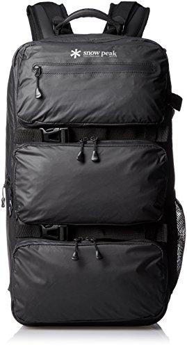 [スノーピーク] アクティブ バックパック リュックサック ザック タウン ビジネス 出張 登山 トレラン 防水 耐水 UG-674BK ブラック One Size