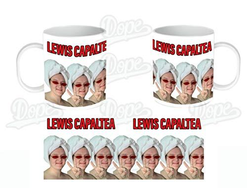 Lewis Capaldi (CAPALTEA) - Taza de cerámica con diseño de Lewis Capaldi