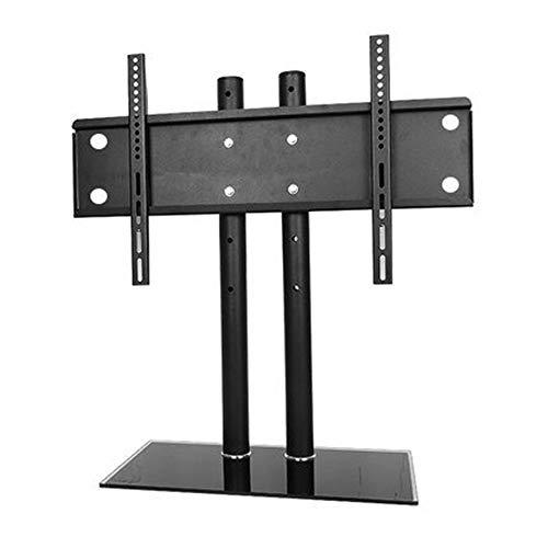 Honglimeiwujindian tv-muurbeugel draaibare desktop-tv-standaard tv-standaard met staander voor 37 tot 60 inch flatscreen-monitor in hoogte verstelbaar beeldscherm