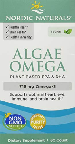 Algen Omega, 625 mg, 60 weiche Gele - Nordic Naturals
