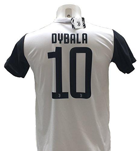 Maglia Calcio Dybala 10 Juventus Replica Autorizzata 2017-2018 Bambino (Taglie 2 4 6 8 10 12) Adulto (S M L XL) (4 Anni)