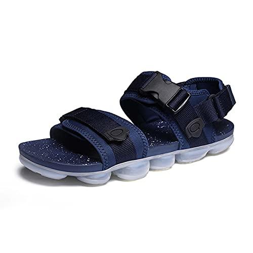 Sandalias de jardín antideslizantes para hombre con punta abierta y cómoda para exteriores, Blue, 40 2/3 EU