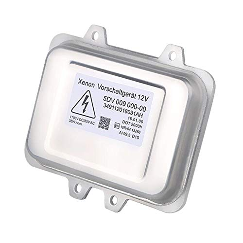 WMPHE HID Xenon Headlight Ballast for BMW, Mercedes, Cadillac, Jaguar, Volkswagen, Lincoln, Chrysler, Saab, Hyundai,Replace OE# 5DV 009 000-00 HID Ballast Headlight Control Unit Module