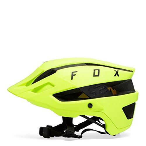 FOX 21317-069-XS/S Casco Flux MIPS, Hombre, Amarillo/Negro, Extra-Small/Small