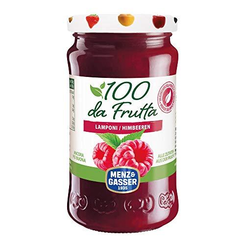 MENZ&GASSER Composta 100Dafrutta Lampone, 100% Frutta, 1 Vaso X 240G - 240 gr