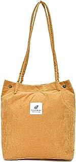 MIDSuN Umhängetasche Damen Schultertasche Groß Cord Tasche Damen Handtasche Shopper Damen für Alltag, Büro, Schule und Reisen