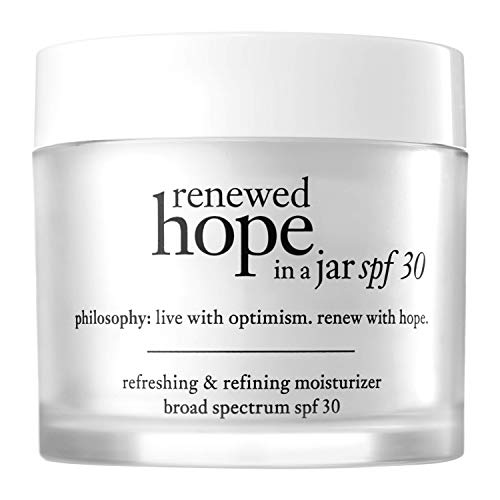 philosophy renewed hope in a jar - moisturizer - spf 30, 2 oz