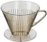Westmark Kaffeefilter/Filterhalter, Für bis zu 4 Tassen Kaffee, Filtergröße 4, Kunststoff, Braun/Transparent, 24542261