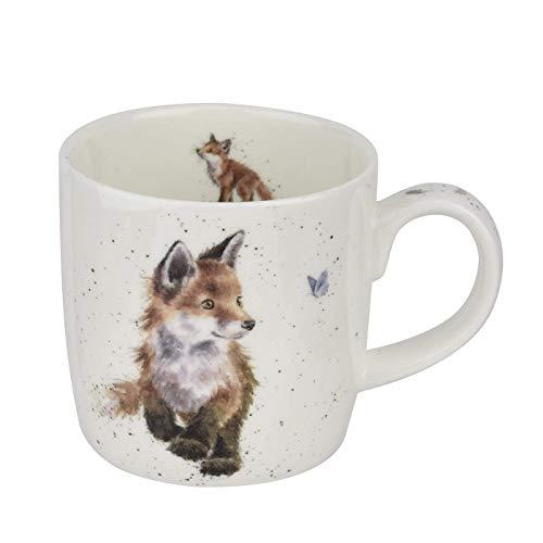 Wrendale von Royal Worcester' Born To Be Wild ' - Foxes Einzel Becher