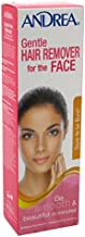Andrea Hair Remover Gentle For Face 2 Ounce (59ml) (3 Pack)
