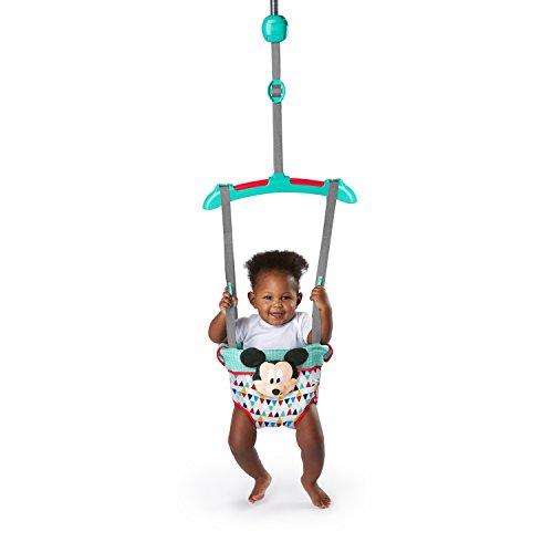 Disney Baby 11524 Türhopser Micky Maus Happy Triangles, Mehrfarbig - 2