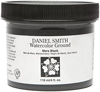Watercolor Ground, Mars Black, 4-Ounce Jar(Packaging may vary)
