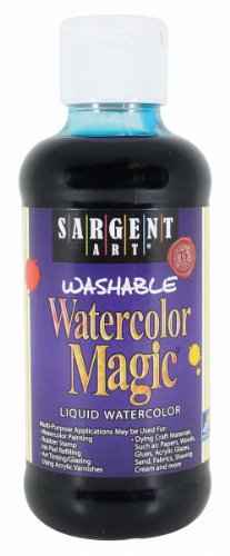Sargent Art 22-6061 8-Ounce Watercolor Magic, Turquoise