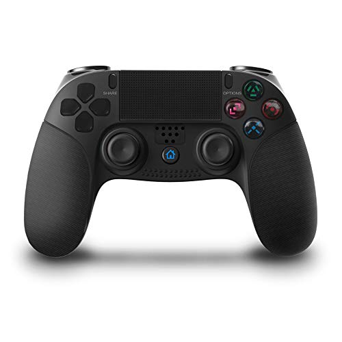 Thlevel Mando Inalámbrico para PS4, Gamepad Wireless Bluetooth Controlador Joystick con Vibración Doble Remoto Compatible con Playstation 4 Controller