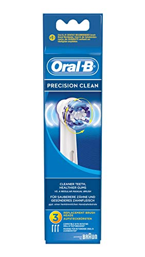 Price comparison product image Oral-B - 64703701 - Pack Of 3 Precision Clean Electric Toothbrush Heads