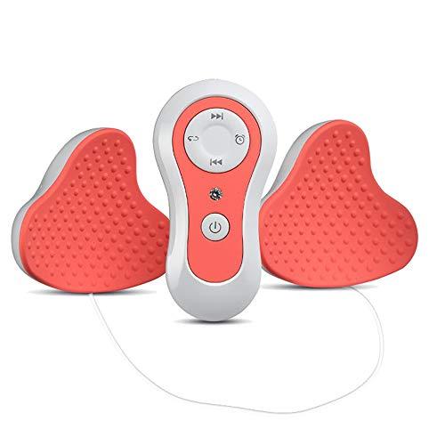 ZHIMIN Masajeador eléctrico de Mama, Mama inalámbrica para Aumentar los Pechos Instrumento acupresión Tratamiento del Masaje Anti-flacidez Reafirmante circulación de la Sangre del Seno