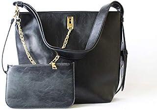 Lenz Bucket Bag For Women - Black, AM19-B012