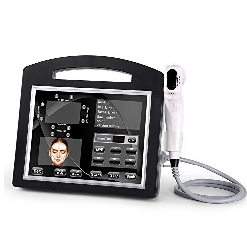 Amazing Deal UANGELCARE 8 Cartridges 4D hifu 20,000 shots 12 Lines Face Lift Machine for Salon