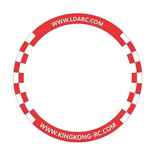 Cancello da Corsa Rotondo da 500 mm Porta da Competizione per Giochi FPV Racing Cancello Pop-up per Drone FPV da 3 Pollici Tiny Whoop Race