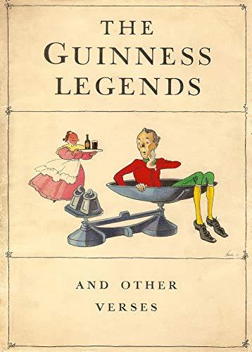 Vintage bieren, wijnen en sterke drank 'De Guinness Legends', 1934, 250gsm Zacht-Satijn Laagglans Reproductie A3 Poster
