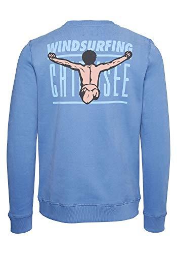 Chiemsee Herren Men Sweatshirts, Coronet Blue, S