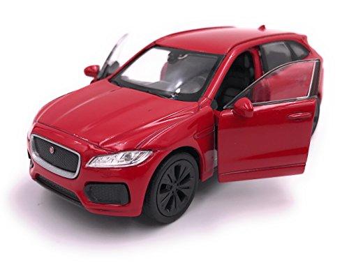 Welly Producto de Licencia de Auto Modelo Jaguar F-Pace SUV Modelo 1:...